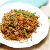 Spicy Shrimp Stir Fry With Noodles