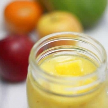 Frozen Mango Apple Banana Smoothie