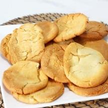 English Ginger Biscuits - Cornish Fairings