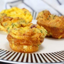 Keto Bacon Egg Muffins