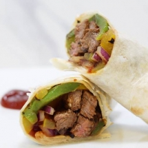 Healthy Steak Fajitas