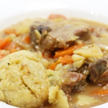Irish Lamb Stew with Dumplings