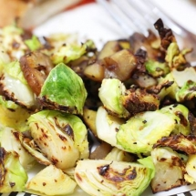 Brussel Sprouts and Chestnuts Recipe