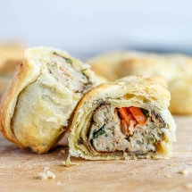 Irish Sausage Roll (with a twist!)