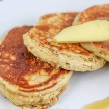 Muesli Pancakes - American Style