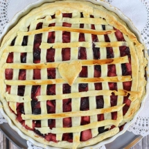 Apple and Cherry Pie