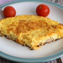 Bacon Cheese Omelette