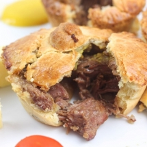 Mini Steak and Guinness Pies