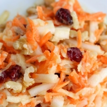 Apple Cranberry Coleslaw