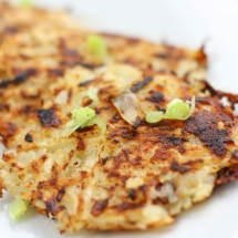 Cheese and Onion Rösti