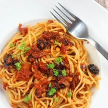 Italian Pasta With Anchovies