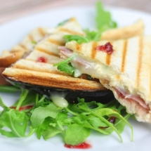 Brie and Cranberry Toastie