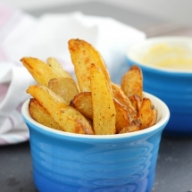 Homemade Chunky Chips - Made in the Air-fryer