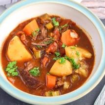 Hungarian Beef Goulash - Instant Pot
