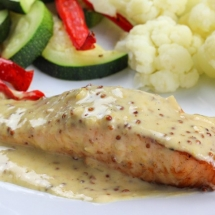 Creamy Mustard Sauce For Salmon