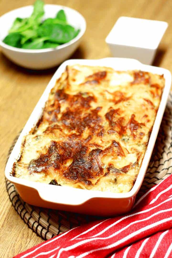 lasagna white sauce