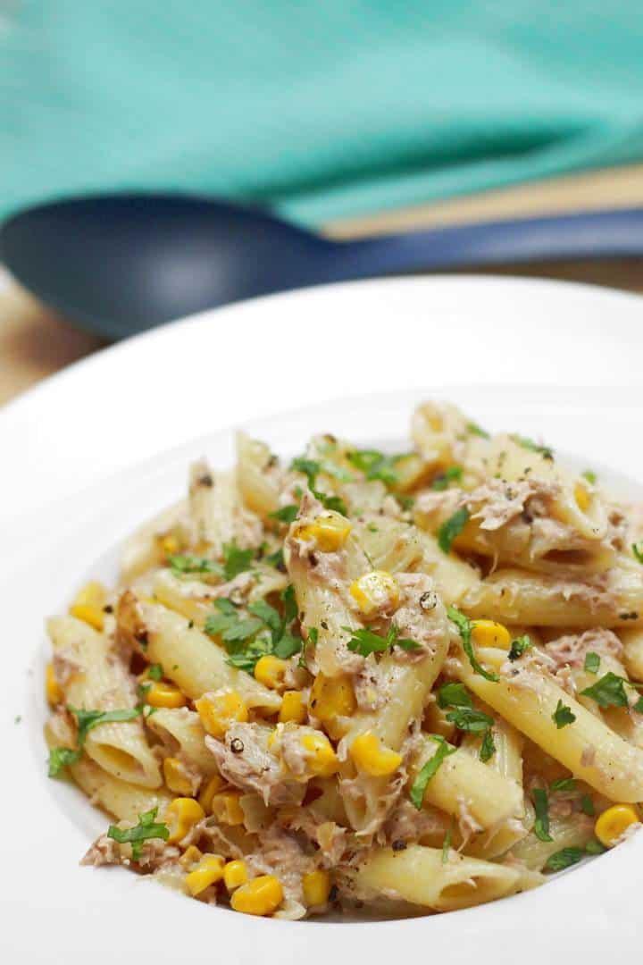 Easy tuna pasta