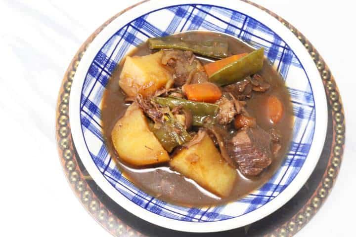Beef in beer stew