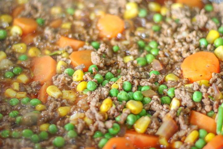 cottage pie filling