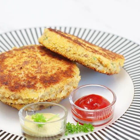 easy tuna fish cake recipe for lunch or dinner