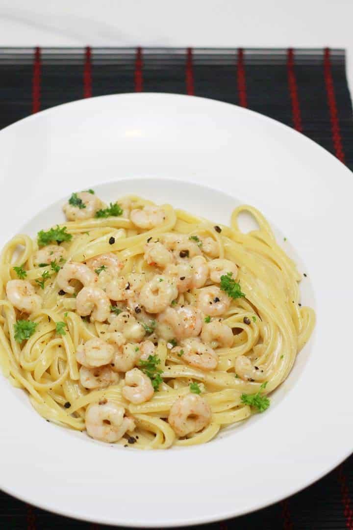 garlic shrimp pasta recipe