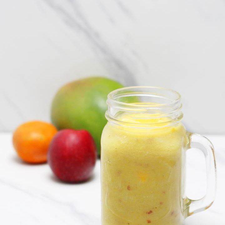 mango apple banana smoothie