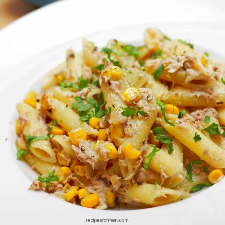 Easy tuna pasta to eat hot or cold as tuna salad #tuna #tunasalad #tunarecipes #tunapasta #recipe #recipes #food #foodie #foodlovers #foodrecipes #recipeideas #recipesfordinner #recipeseasy #recipecards #recipeshealthy #recipeseasyfast #recipesfordinnereasy #meals #easyrecipe #quickrecipe #easymeals #cooking #cook #foodblogger #foodideas #foodismedicine #recipeoftheday