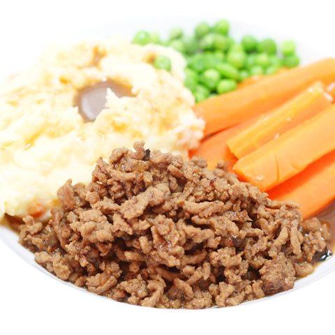 Ground beef and gravy recipe