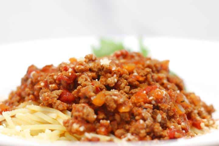 authentic bolognese sauce