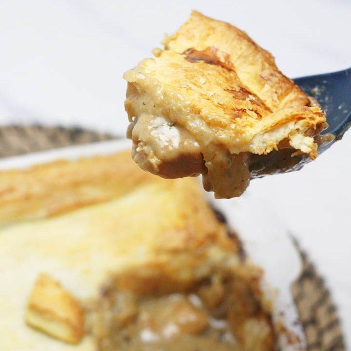 chicken pot pie with pie crust