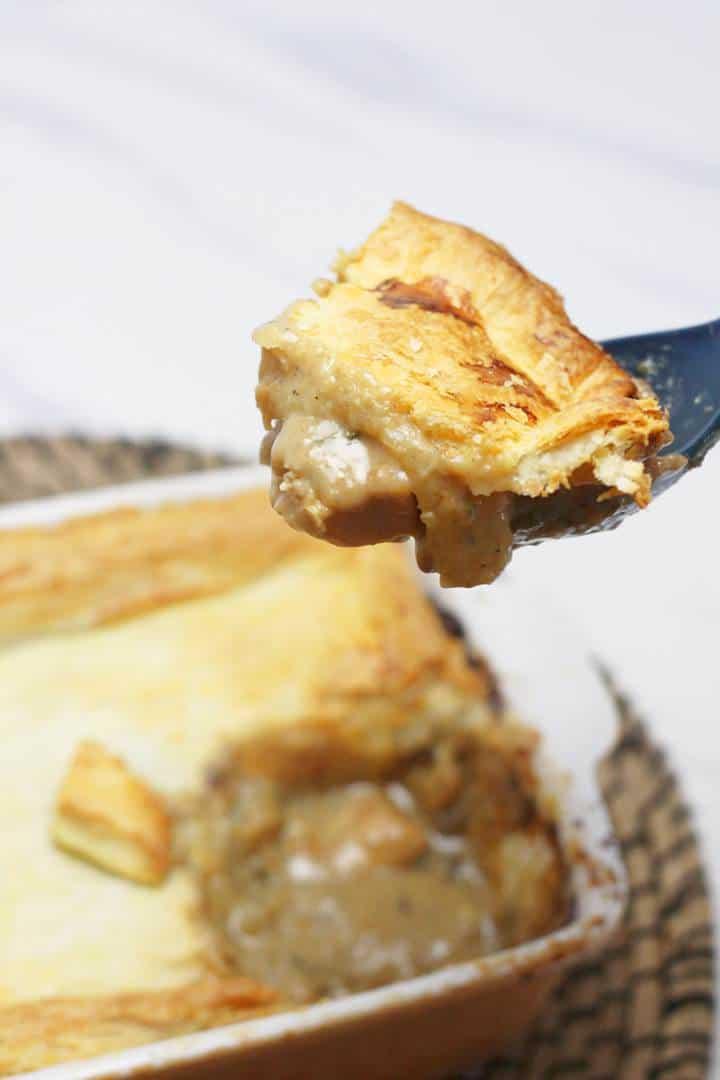 puff pastry pie crust