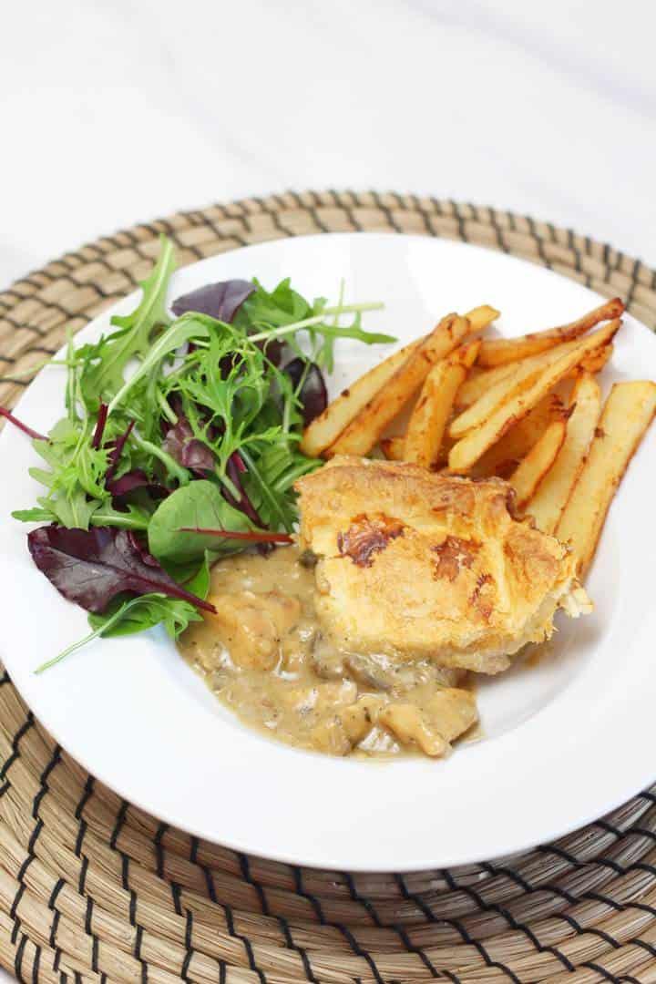 creamy chicken and mushroom recipes