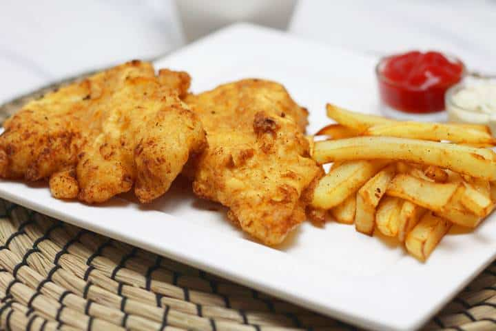 Beer battered fish recipe