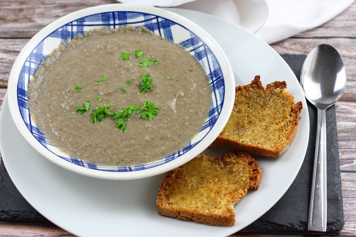 vegetarian mushroom soup
