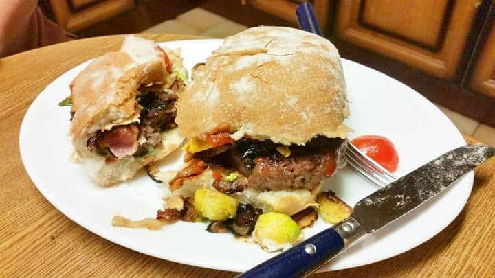the original sprout burger