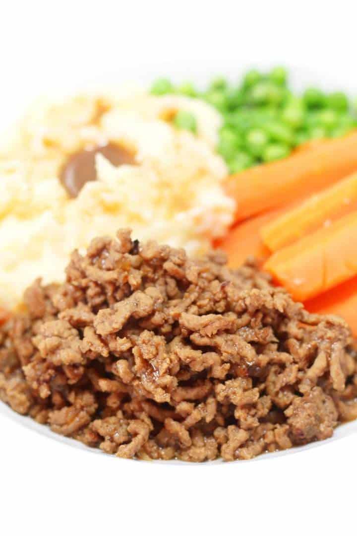 Dinner ground beef