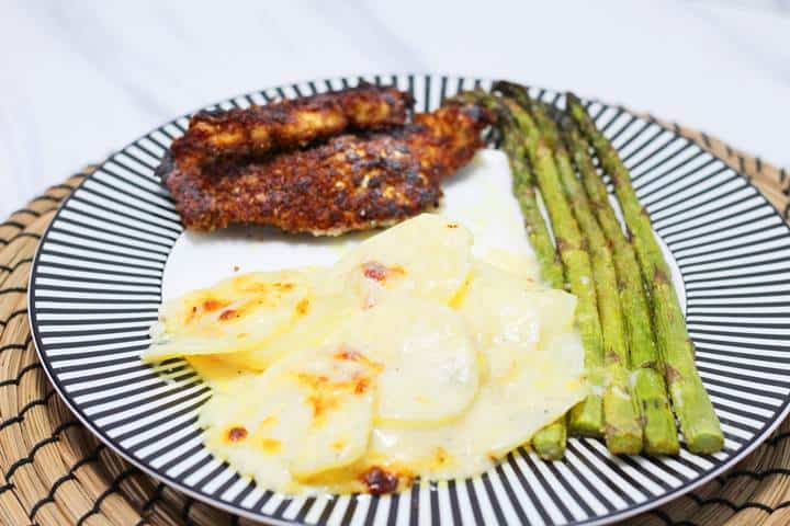 gratin with chicken