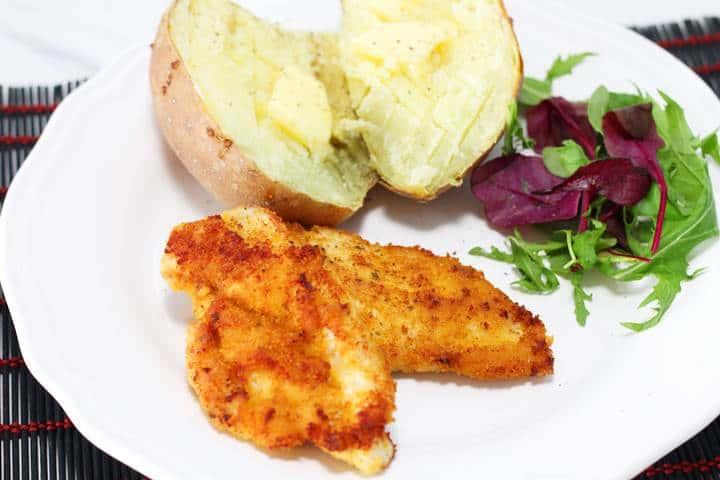 Pan Fried Breaded Chicken Breast
