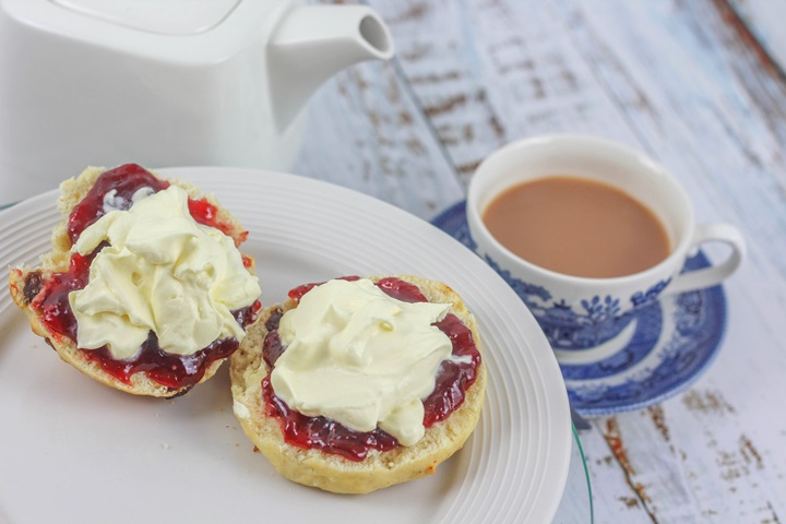 british cream tea