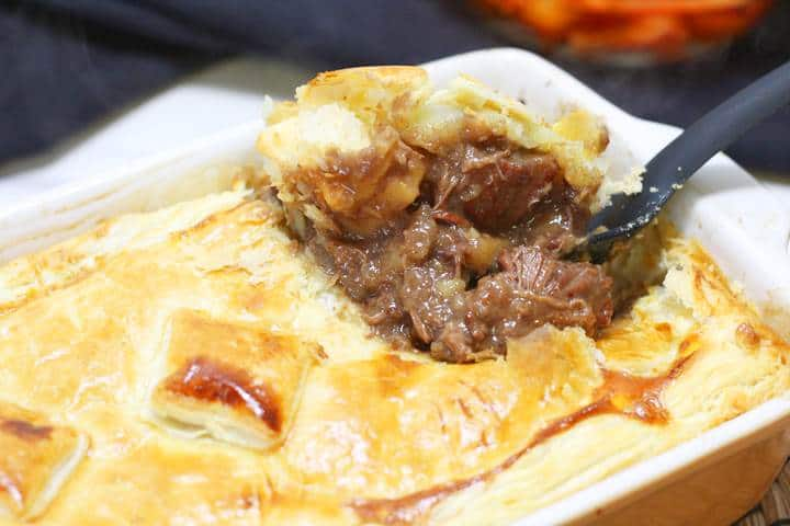 easy steak pie