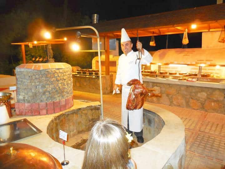 underground roast lamb