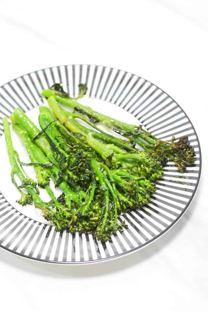 Oven Roasted Long Stem Broccoli