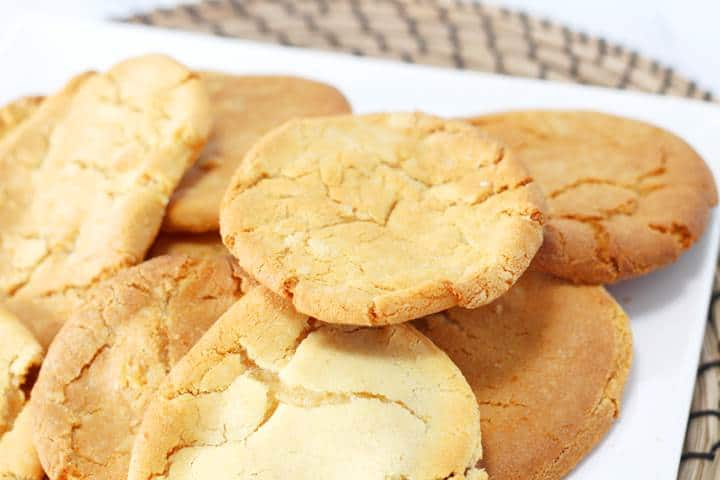 Cornish fairings ginger cookies