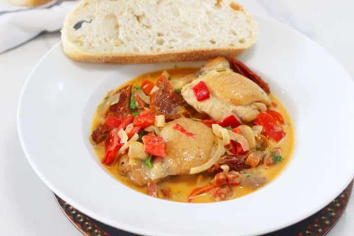 mediteranean chicken stew