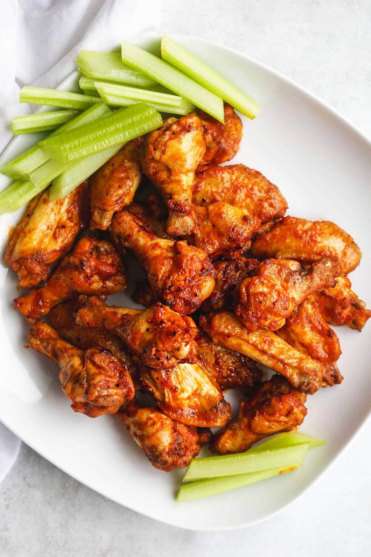 Chicken wings dairy free appetizers