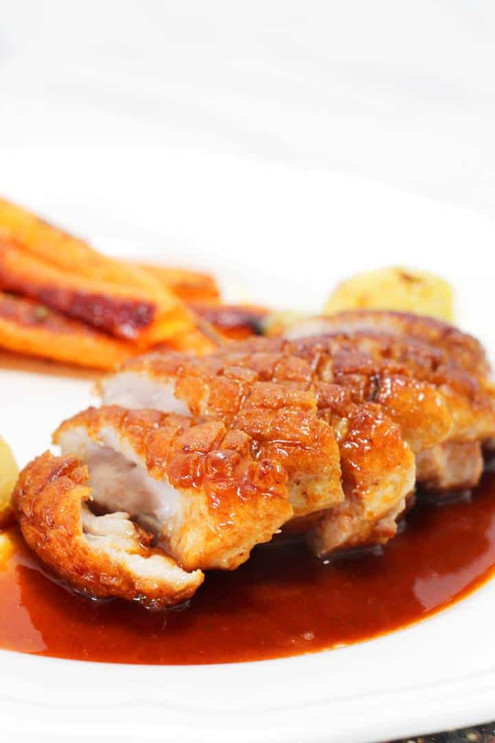 sauce duck breast