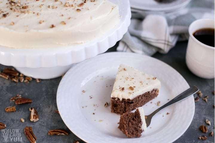Sugar Free Red Velvet Cake Recipe (Gluten Free, Keto)
