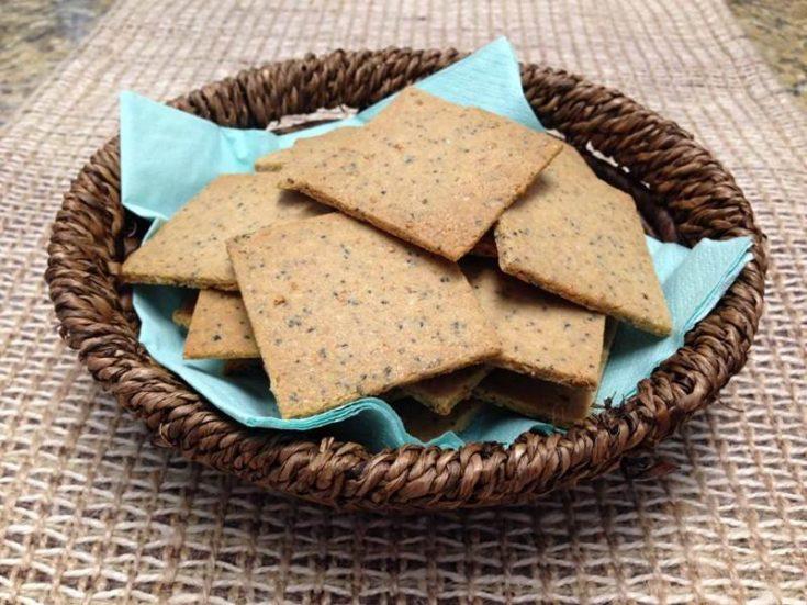 Homemade Keto Crackers