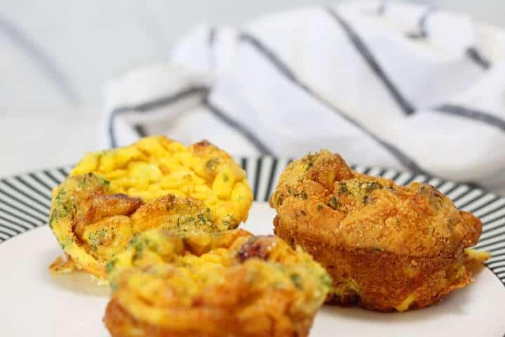 Keto Bacon Egg Muffins