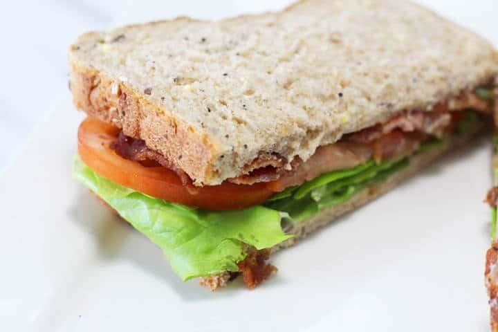 gourmet blt sandwiches